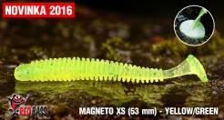 Ripper REDBASS Magneto Yellow / Green 53mm