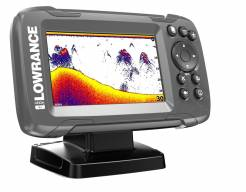Lowrance HOOK² 4x GPS se sondou Bullet Skimmer