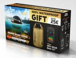 Deeper Pro+ Fishfinder nahazovací sonar WiFi s GPS letní edice