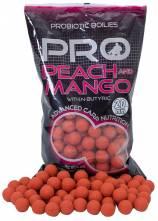 Starbaits boilies Probiotic Peach Mango + N-Butyric 1kg 20mm