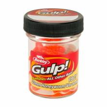 Vosí larva Berkley Gulp Honey Worm 3,3cm Orange 18ks