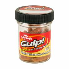 Vosí larva Berkley Gulp Honey Worm 3,3cm Natural 18ks