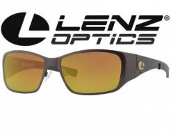 Lenz Optics polarizační brýle Litza Titan Carbon Gun w/ Brown Lens