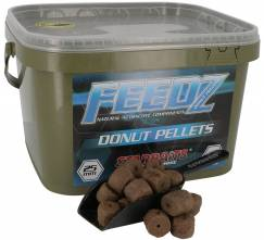 Starbaits Feedz Donuts pelety s dírou 25mm 4,5kg