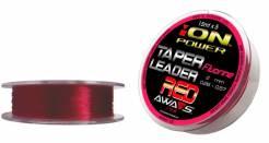 AWA-SHIMA šokový ujímaný návazec ION Power Taper Leader Red 5 x 15m 0,23mm - 0,57mm