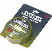 Nash Olověná šňůra Cling-On Leadcore Weed Green 20,41kg ( 45lb ) 7m