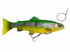 Savage Gear 4D Line Thru Trout SS pstruh Fire Trout 15cm 35 gr