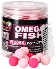 Starbaits plovoucí boilies Fluo Omega Fish 20mm 80g