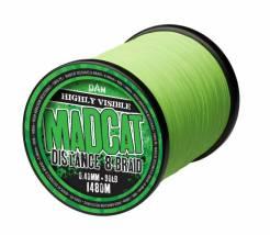 Madcat pletená šňůra distance 8 braid 0,50mm 52,20kg