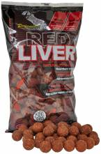 Starbaits boilies Red Liver 1kg 20mm