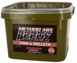 Starbaits Method Mix Feedz Fish & Pellets 1,7kg