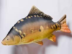 Polštář plyšová ryba Kapr Gigant 90cm